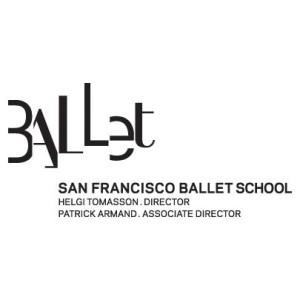 PREMIUM1 - SF Ballet School logo bianco